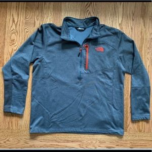 The North Face Men's 1/4 zip active fleece - XL